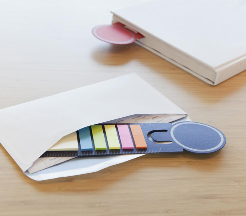 Marcador de Livro com Notas